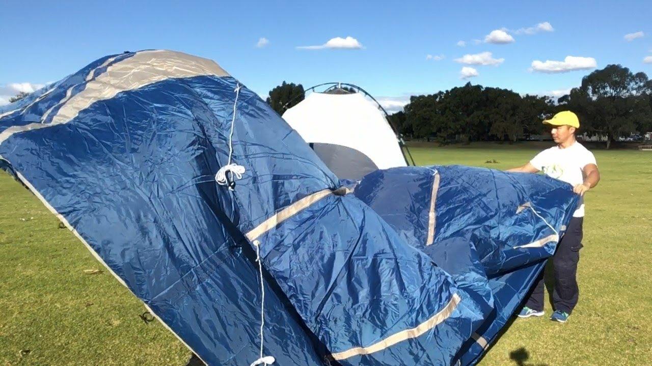 Unboxing a Caribee Kestrel-5 tent & Unboxing a Caribee Kestrel-5 tent - YouTube