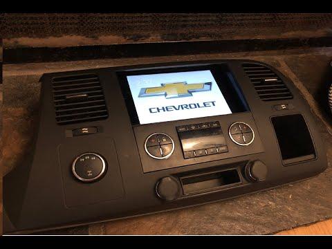 2008-2013 Chevy Silverado Sierra IPad Mini 2/3/4 Dash Bezel Kit