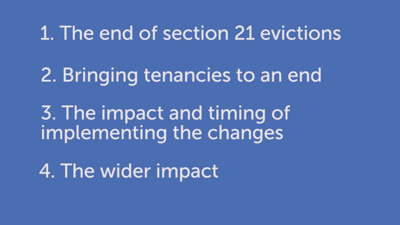 How will Government changes to Section 21 affect landlords