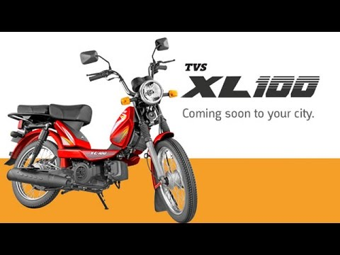Tvs Xl 100 Launched In India For Rs 29539 Youtube