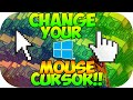 How To Change Your Mouse Cursor For Windows 8/8.1/10