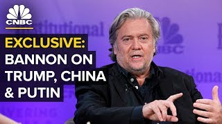 Steve Bannon Speaks At Delivering Alpha