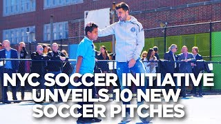 NYCFC launches first 10 mini-pitches in the 5 boroughs | NYCSI