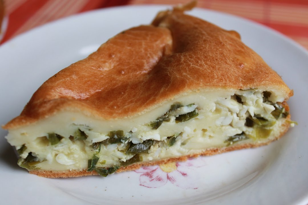 заливной пирог с луком и яйцом рецепт с фото пошагово в духовке