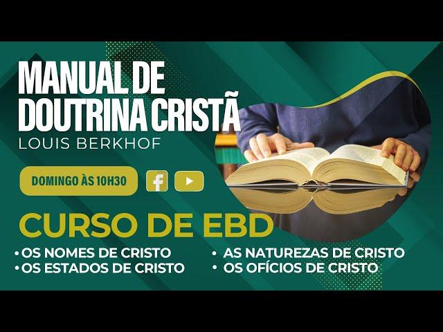 Escola Bíblica Dominical - 08.08.2021 - 10:30h