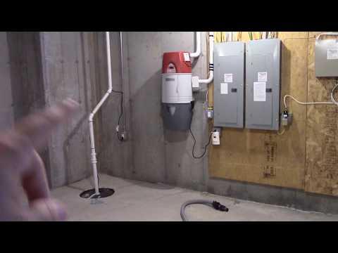 NuTone VX550 Central Vacuum System.