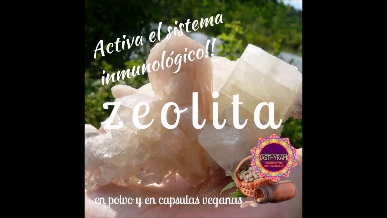 Zeolita sirve para bajar de peso