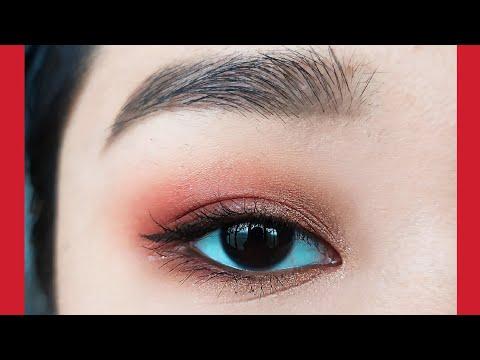 Sparkling Red Eye Makeup | JaMi thumbnail
