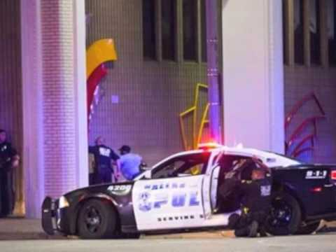Police Radio/Dispatch Dallas Police Shootings 845-915pm 7-7-16