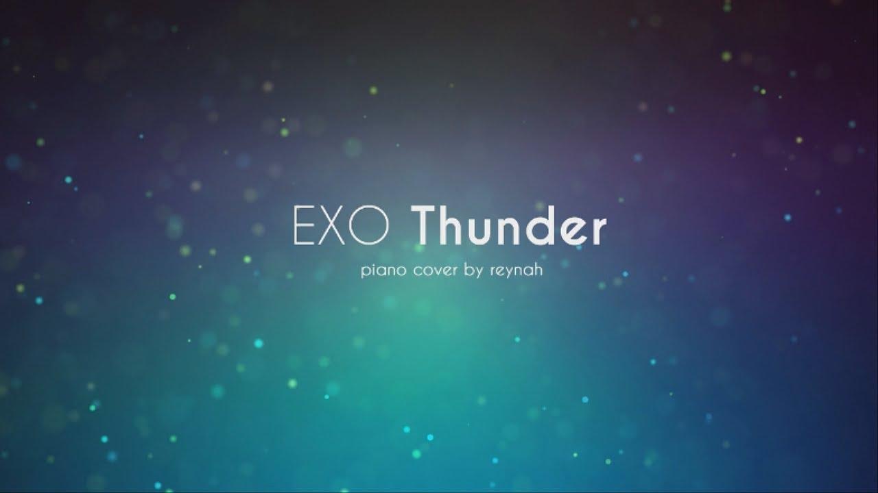 """Thunder"" Piano cover 피아노 커버 - EXO 엑소 - YouTube"