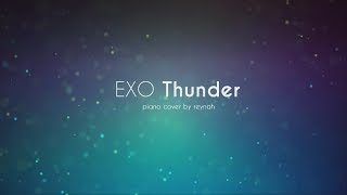 """Thunder"" Piano cover 피아노 커버 - EXO 엑소"