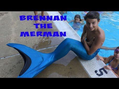 Brennan The Merman | Trucks Are Fun | Flippin' Katie
