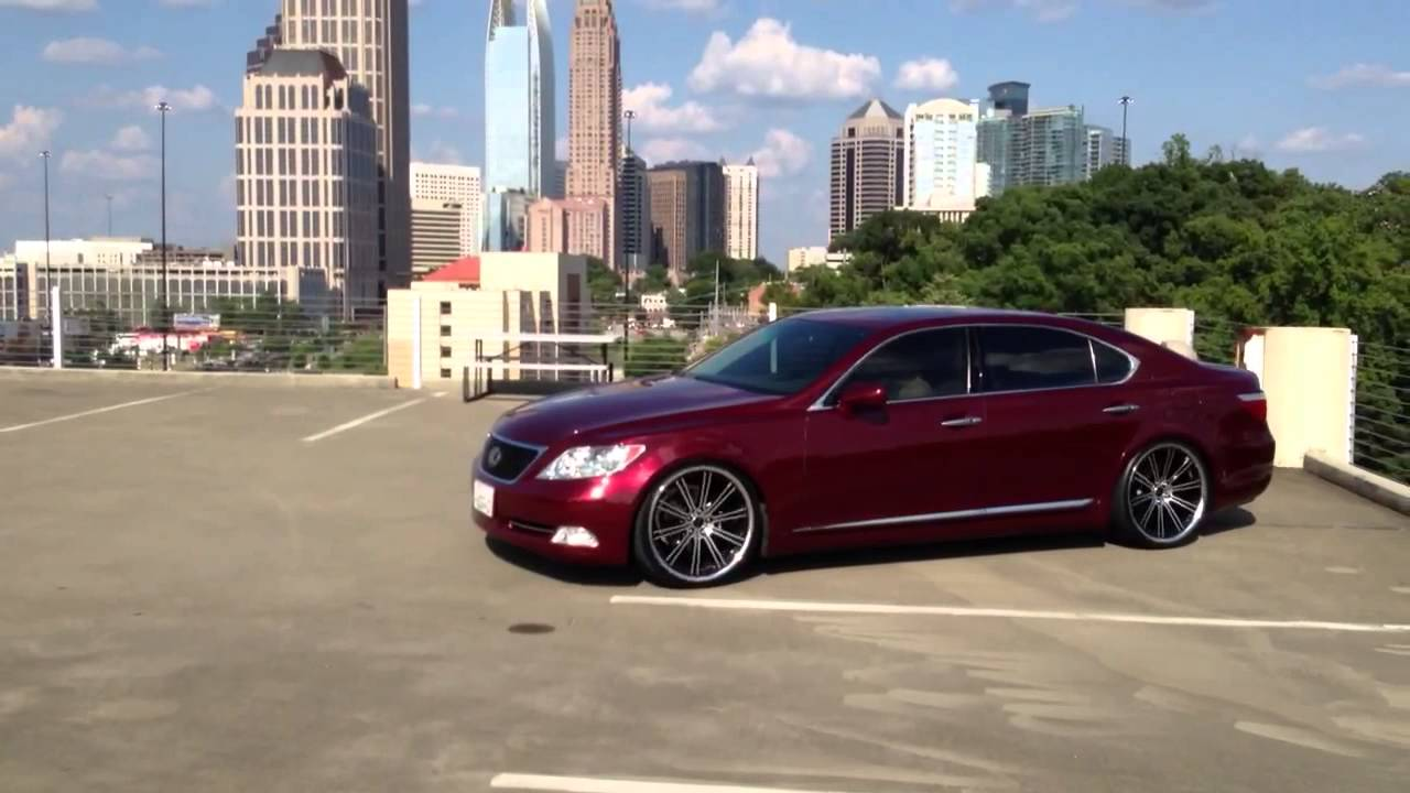 Lexus Ls460l On Savini 22 Quot Staggered Bm3 S Youtube