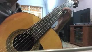 Qua Ngõ Nhà Em -  Ngọc Sơn - cover - guitar solo
