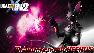 GOTT LEVEL erreicht! Training bei Beerus! ;D | Dragon Ball Xenoverse 2 Deutsch