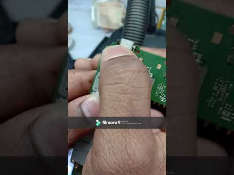 Nokia RM-1013 NO CHARGING  VBUS LINE SHORTING REMOVING