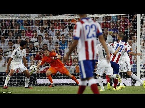 Real Madrid vs Atletico Madrid 1 - 2 All Goals & Highlights  13 09 2014  HD