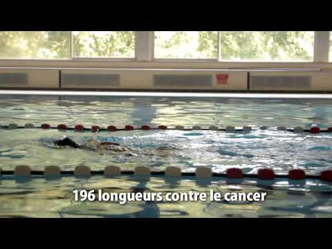 Florennes - Sabrina nage 196 longueurs contre le cancer