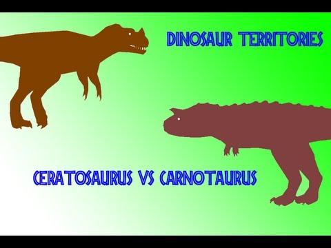 Dodge T Rex >> Dinosaur Territories - Ceratosaurus vs Carnotaurus - YouTube