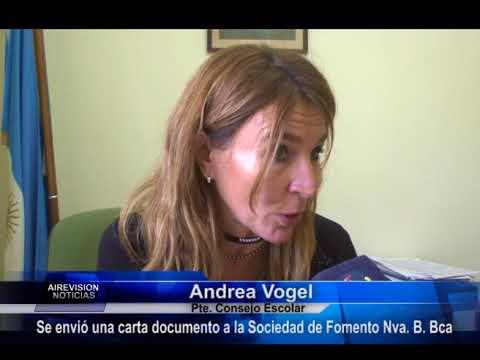 Andrea Vogel   Carta documento a la Soc  de Fomento Nva  B  Bca