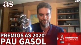 Premios AS 2020 | Pau Gasol, Premios Solidarios AS 2020 | Diario AS