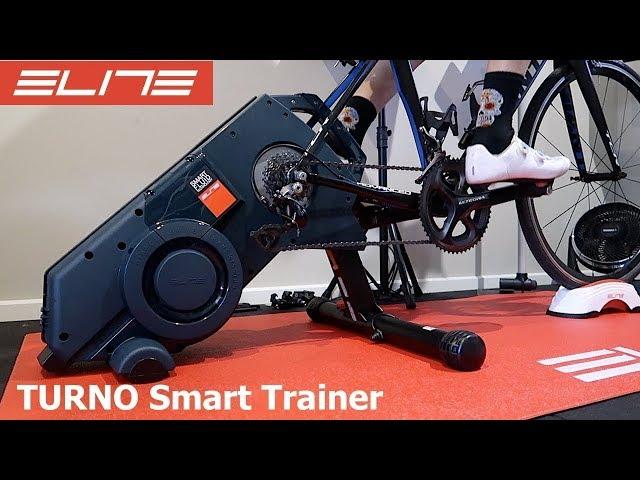 ELITE Turno Smart Fluid Trainer: Unboxing, Build, Ride Details
