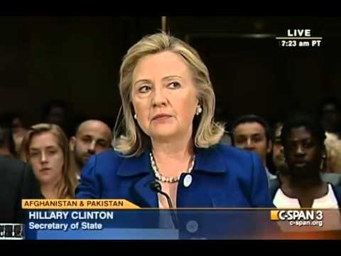 """Clinton On Afghan Withdrawal : """"We Do Begin This Drawdown From A Position Of Strength"""""""