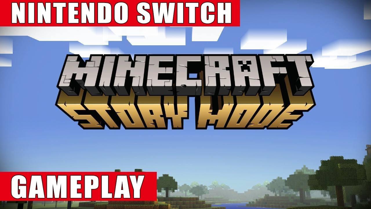 Minecraft Story Mode Nintendo Switch Gameplay YouTube - Minecraft spiel kaufen amazon