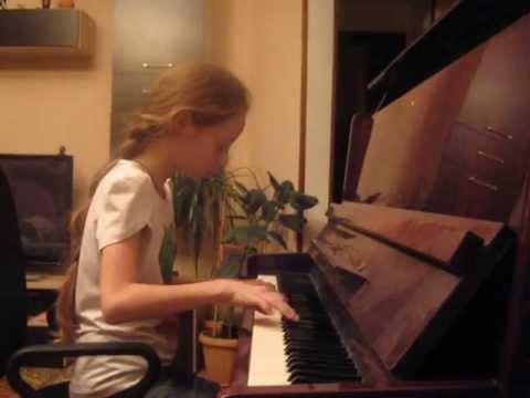Классная игра на пианино(смотреть всем!!!) лунная соната