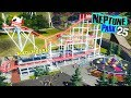 Neptune Park (ep. 25) - MAD MOUSE + surrounding area! | Planet Coaster