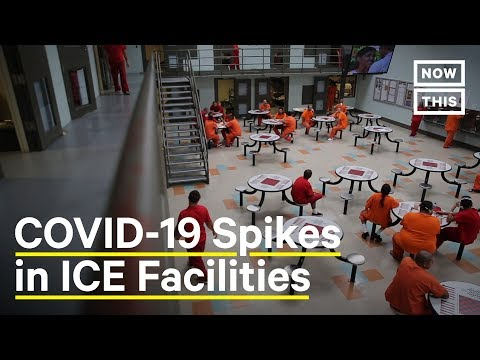 COVID-19 Crisis in ICE Detention Centers | NowThis