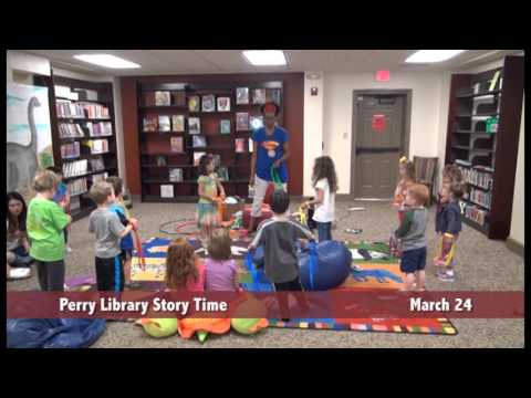 Perry Public Library Story Time - March 24, 2016
