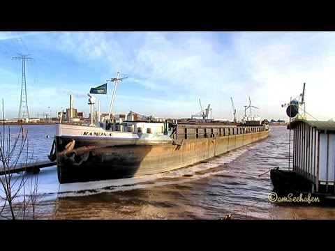 GMS RAMONA DA4944 MMSI 211585010 built 1948 Emden Germany Ship vessel Binnenschiff Frachtschiff