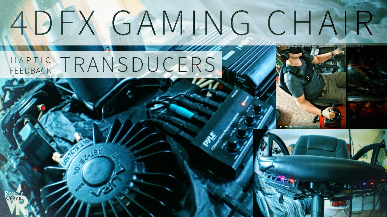 AMAZING DIY TRANSDUCER GAMING CHAIR! - YouTube