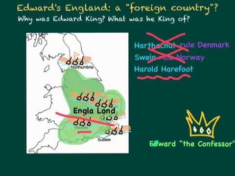 King Edward the Confessor's England: Anglo Saxons, Viikings and Normans, why did Edward become king?