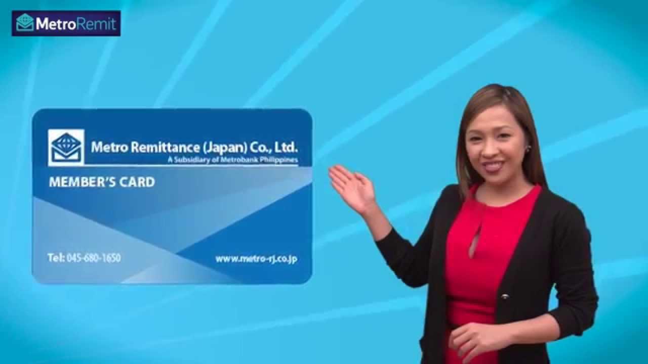 Online Bank Transfer - Metro Remittance Japan - YouTube
