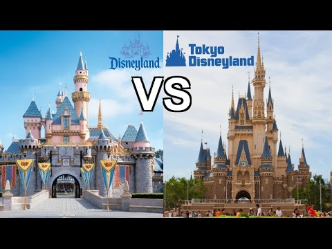 DISNEYLAND VS TOKYO DISNEY! | WHICH IS BIGGER + BETTER ...