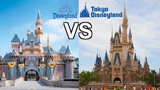 DISNEYLAND VS TOKYO DISNEY! WHICH IS BIGGER BETTER BADDER!