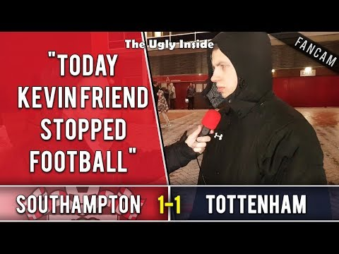 """Today Kevin Friend stopped football..."" 