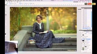 Урок художественной обработки и тонирование фотографии в Photoshop Уроки Фотошопа