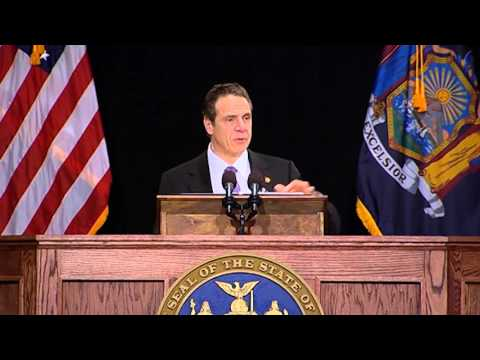 Governor Cuomo Discusses Paid Family Leave