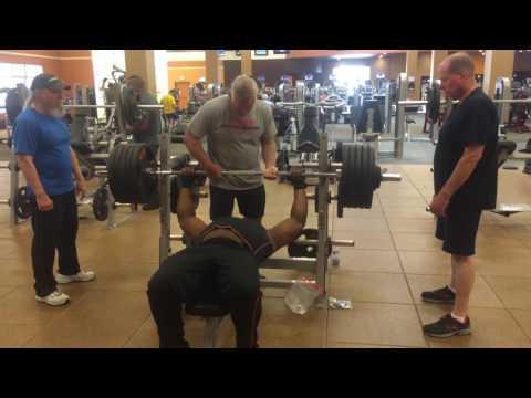 Chad 510lb Bench Press 6-24-2016
