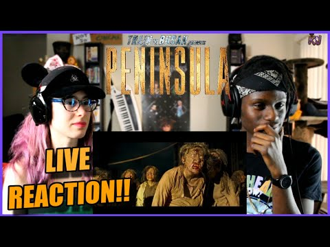 THE ZOMBIES ARE BACK! Train To Busan 2: Peninsula Trailer LIVE REACTION!