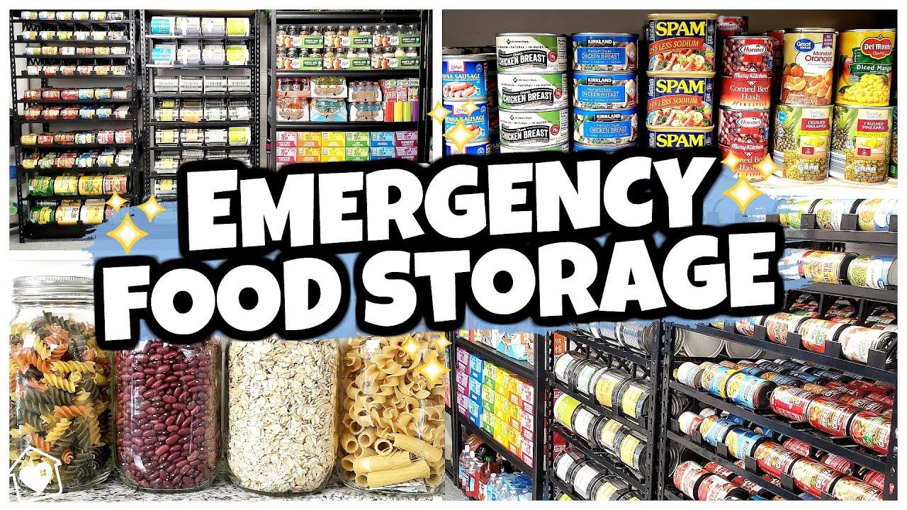 20 Foods I Keep in MY SECRET PREPPER PANTRY (Food Storage 101) - YouTube