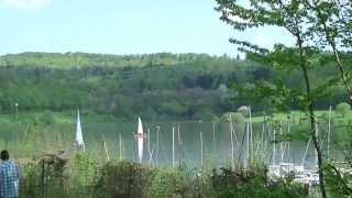 Niddatalsperre -Stausee bei Schotten-ein Frühlingstag