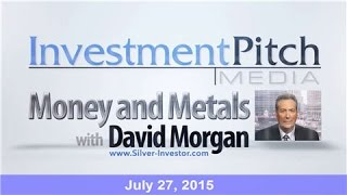 Money & Metals with David Morgan – PRECIOUS Gold struggles to recover from 5 1 2 year low
