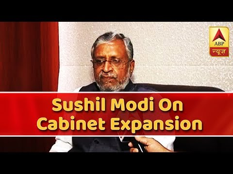 No Tiffs, Bihar Cabinet Expansion Was Pending Since Days: Sushil Modi | ABP News