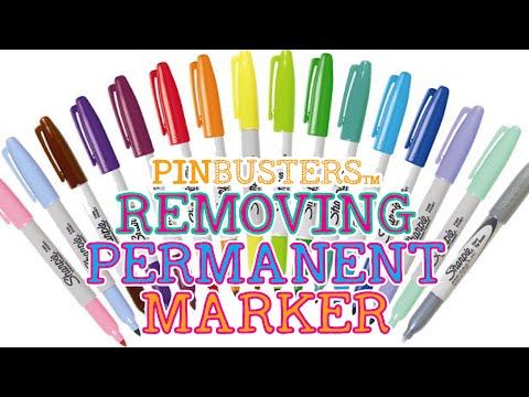 How To Remove Permanent Marker From Stuff // DOES IT WORK?