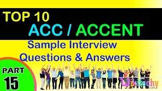 acc | accent jobs most interview questions and answers for freshers