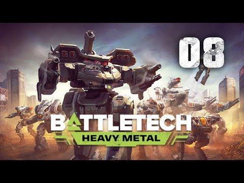 Massive Mech Salvage   Battletech Heavy Metal DLC Playthrough   Episode 8